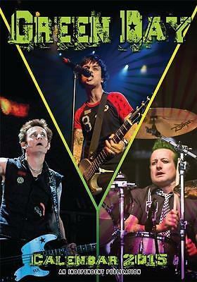 Sale !! Sale !! Green Day 2015 Large Size Wall Calendar New And Factory Sealed