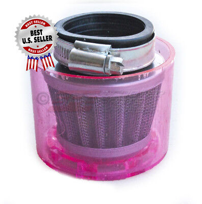 "Air Filter 38mm 1 1/2"" Straight Shielded Cone ~ US Seller"