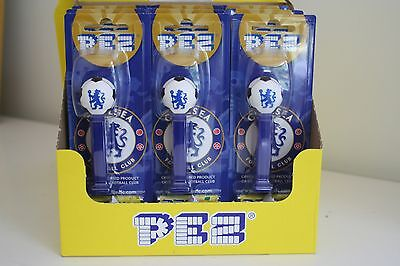Chelsea Fc Pez Dispenser Plus 2 Packs Of Sweets Party Bags Brand New