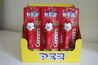 Arsenal Fc Gunners Pez Dispenser Plus 2 Packs Of Sweets Party Bags Brand New