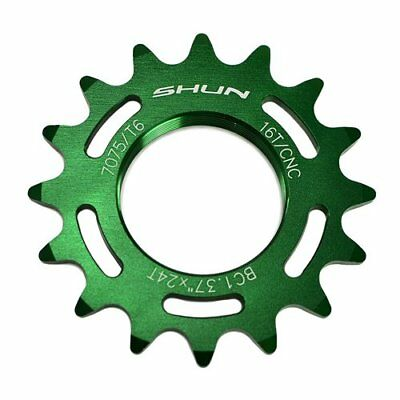 Taiwan Made 7075 Alloy 19T Tooth Fixie Fixed Gear Track Cog Red