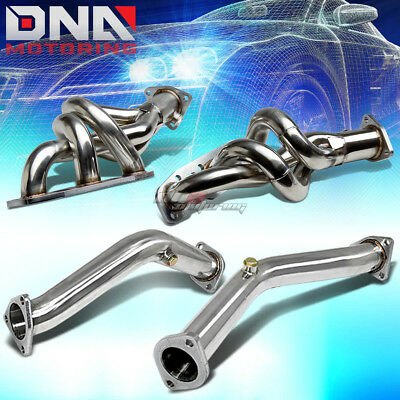 For Fairlady 350Z Z33 G35/v35 Stainless Exhaust Header+Down Pipe/downpipe+Gasket