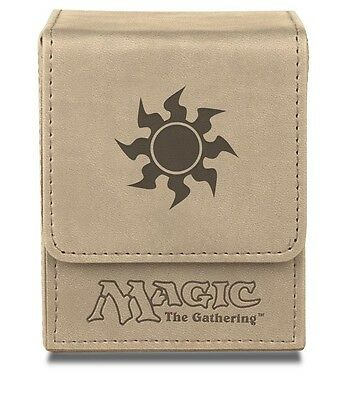 Mana Symbols Flip Box Mat WHITE Ultra Pro Magic  Matt Weiß - OVP Deck Deckbox