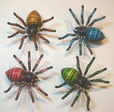 Spider Fridge Magnets - Colourful Fun Moving 3D Wiggly Insect Magnet