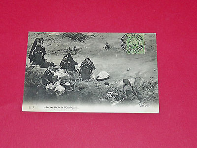 Cpa 1906 Colonies France Tunisie Maghreb Gabes Sur Les Bords De L'oued