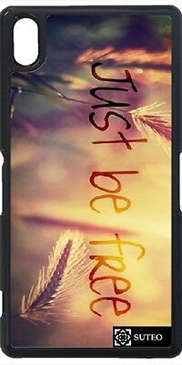 Coque Sony Xperia Z2 - Just Be Free - ref 787