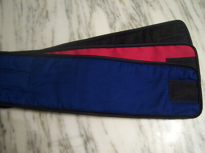 NEW~ 3Pk Male Dog Diaper ROYAL RED BLACK Belly Band Sz XS, S, M, L, XL