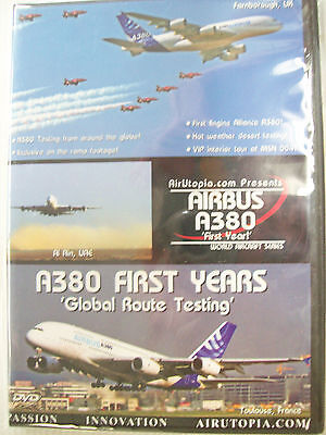 AirUtopia A380 FIRST YEARS GLOBAL ROUTE TESTING