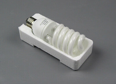 30w E27 5500k Fluorescent Daylight Light Bulb CFL White Photo Photography Edison