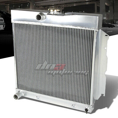 For 63-69 Plymouth Satellite/belvedere Savoy Dodge V8 Two Core Aluminum Radiator