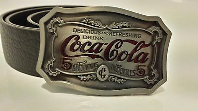 Retro Coca Cola Belt Buckle | With / Without Belt | Fast Dispatch | Free Postage