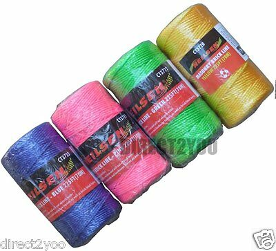 Masonry 70m 225ft Strong Builders Rope String Line Brick Laying Chalk Building