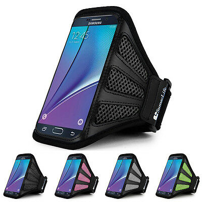 SumacLife Sports Running Mesh Armband Case Cover For Samsung Galaxy Note 5
