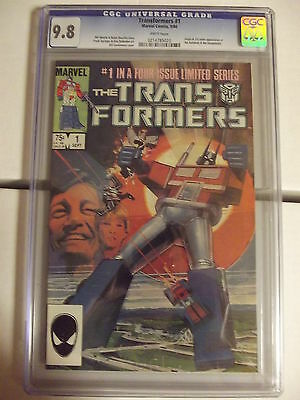 The Transformers #1 - CGC 9.8 - 1st Print - 1st Issue - Marvel - 214785020