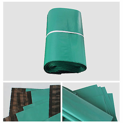 Strong Green Plastic Mailing Postal Poly Postage Bags with Self Seal All Size