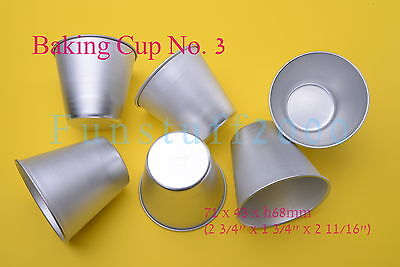 Rum Baba Dariole Cake Mould Paper Wrapped Sponge Popovers Cup Cakes Mold