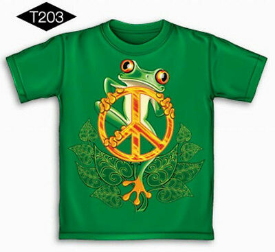 WHOLESALE LOT 12 Pc ( PEACE FROG ) KIDS Tees - Asst Sizes,