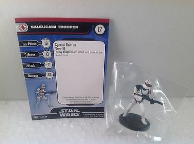 Star Wars Champions of the Force 37/60 Saleucami Trooper (C) Miniature