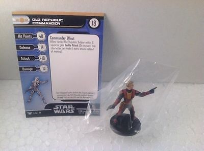 Star Wars Champions of the Force 05/60 Old Republic Commander  (U) Miniature