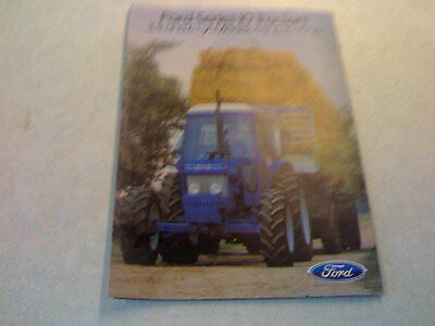 ford seriers 10 tractors 3,4 and 6 cyl. models 44hp to 115hp
