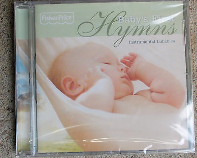 FISHER PRICE  HYMNS- Baby's First Instrumental lullabies   CD   FREE POST