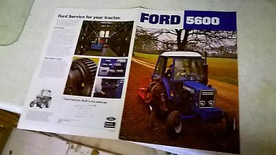 ford  5600  sale brochure 4 pages