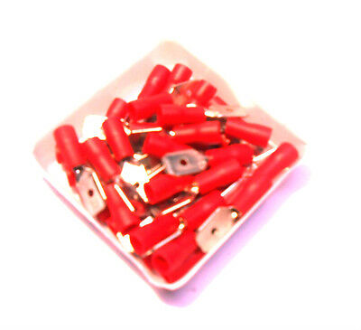 35pc Male Spade End Electrical Terminal Connector Wire Crimping TZ PL266