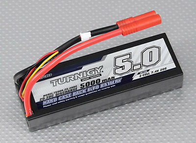 RC Turnigy 5000mAh 2S1P 20C Hardcase Pack (ROAR APPROVED)