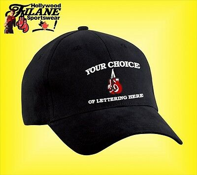 Personalized Boxing MMA custom logo hat  cap Embroidered