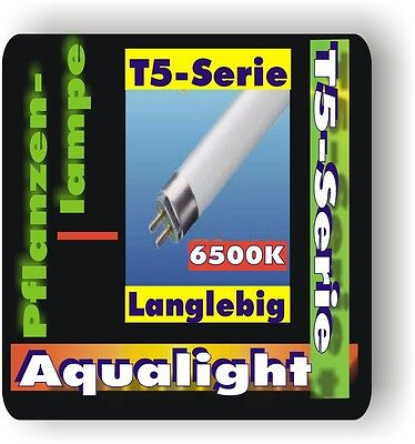 AquaLight T5 Tube fluorescent Lot de 2 pour plantes 6500K 8 W