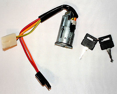 Ignition Starter Barrel Lock - Peugeot 306 ( 4 Pin ) with Key