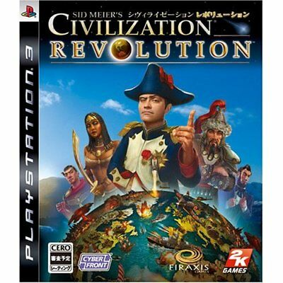 Used DS Sid Meier's Civilization Revolution First Print Limited Edition Japan