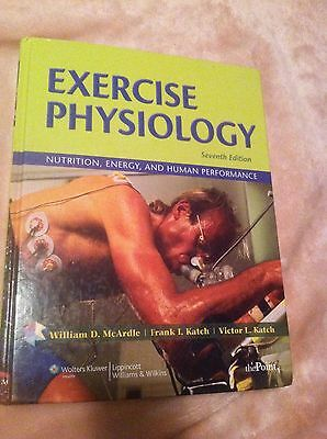 exercise physiology 7th edition 35 00 picclick