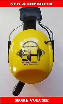Bluetooth Safety Headset - Over the Ear Hearing Protection & Headset/Headphones