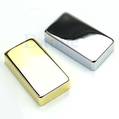 Humbucker Pickup Cover For Electric Guitar Gold Chrome plated 15mm Seal No Hole