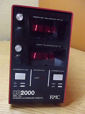 RMC CR2000 Microtomy  Cryobiology Research Nitrogen Cooling Chamber Dewar  Dewer