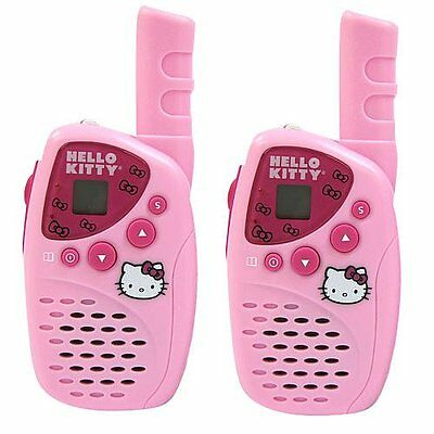 Girls Hello Kitty Mini Frs/Gmrs 22 Channels 2-Way Radio Set Toys Hobby Play New