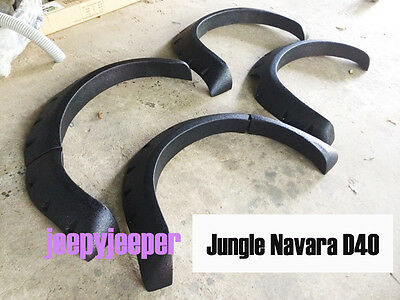 Jungle OFFROAD FENDER FLARES WHEEL ARCH FOR NISSAN FRONTIER NAVARA D40 2005-2014