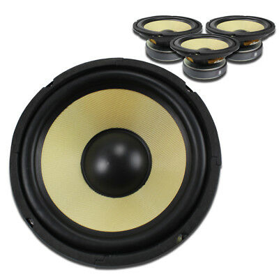 "4x Fenton 8"" PA Replacement Speaker Drivers Spare Components 1000W"