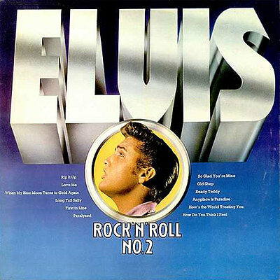 ELVIS PRESLEY Rock'N'Roll Nº2 LP . wanda jackson arthur cudrup red foley atkins