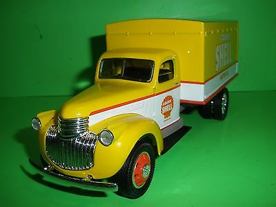 Shell Oil 1942 Chevy Chevrolet Box Delivery Truck Liberty Classics Stock #20281