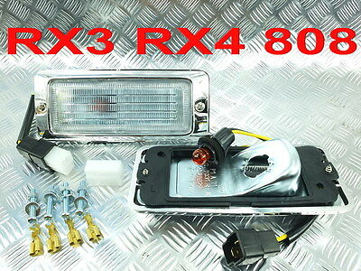 Clear Front Or Rear Side Marker Light Lamp Mazda Rx3 Rx-3 Savanna Rx4 Rx-4 808