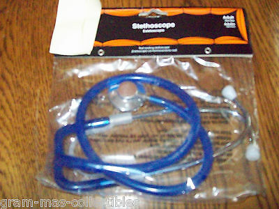 Costume Accessories A Stethoscope For Doctors Or Nurses Adult Size Blue Color
