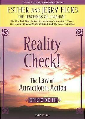 The Law Of Attraction In Action: Episode III by Jerry Hicks DVD-Video Book Free