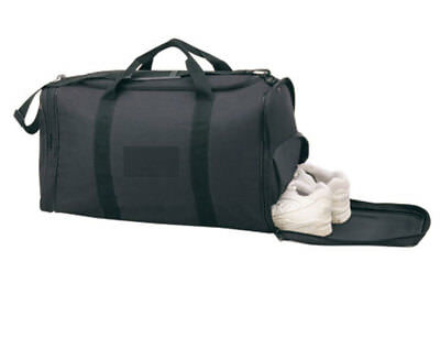 """New Large Duffle Duffel Sports Gym Bag Bags with Shoe Storage Workout 21"""""""