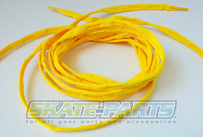 Crazy Shoe, Roller, Inline, Ice & Quad Skate Laces - Yellow 150cm / 60""