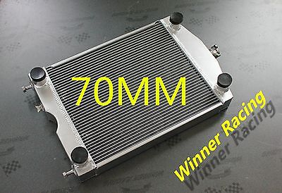 Ford 2N/8N/9N tractor w/flathead V8 engine Up to 1000HP Aluminum radiator 70MM