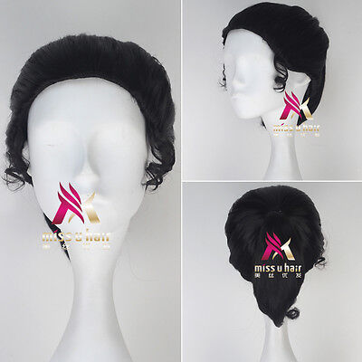 Disney Movie The Princess and the Frog Tiana Wig Short Anime Cosplay Wig