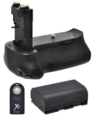 Battery Grip For Canon EOS 70D BG-E14 + LPE6 Battery +Remote Control