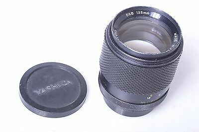 Contax, Yashica Dsb 135Mm 2.8 Lens With Caps